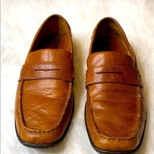 Men's Born leather slip on loafer